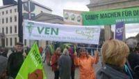 """Der VEN beim Protesttag """"Wir machen Dampf für die Agrarwende"""" in Berlin"""